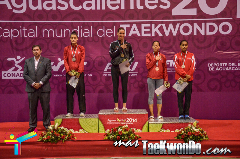 Podio Mexico Open G1, WELTER Femenino -67 Kg.