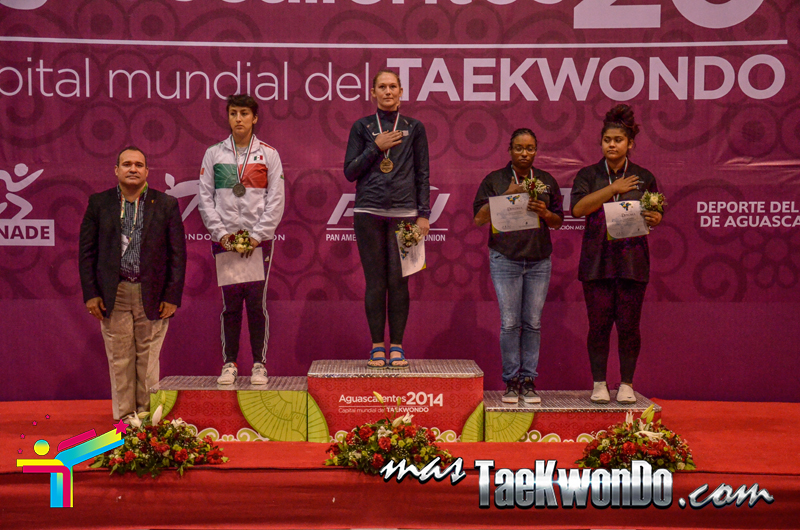 Podio Mexico Open G1, HEAVY Femenino +73 Kg.
