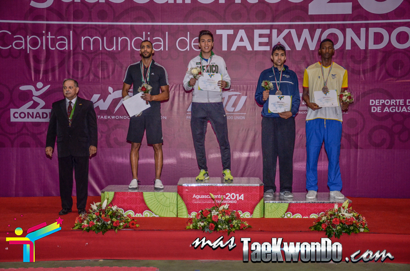Podio Mexico Open G1, WELTER Masculino -80 Kg.