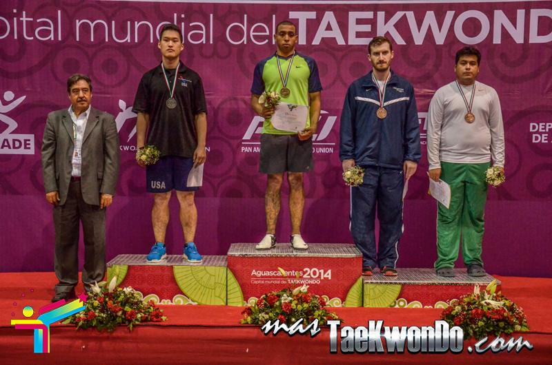 Podio Mexico Open G1, HEAVY Masculino +87 Kg.