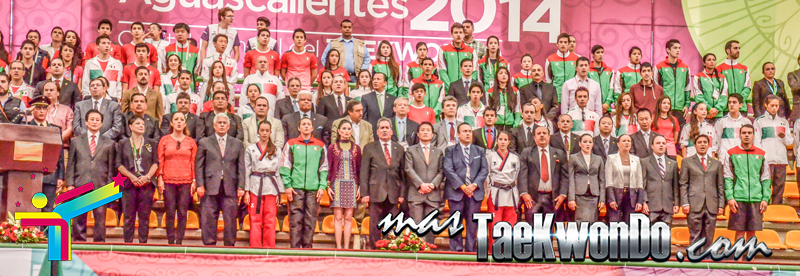 Inauguracion Aguascalientes 2014, dirigentes
