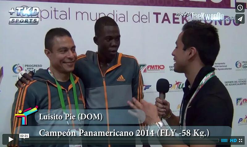 Luisito Pie y Miguel Camacho de República Dominicana