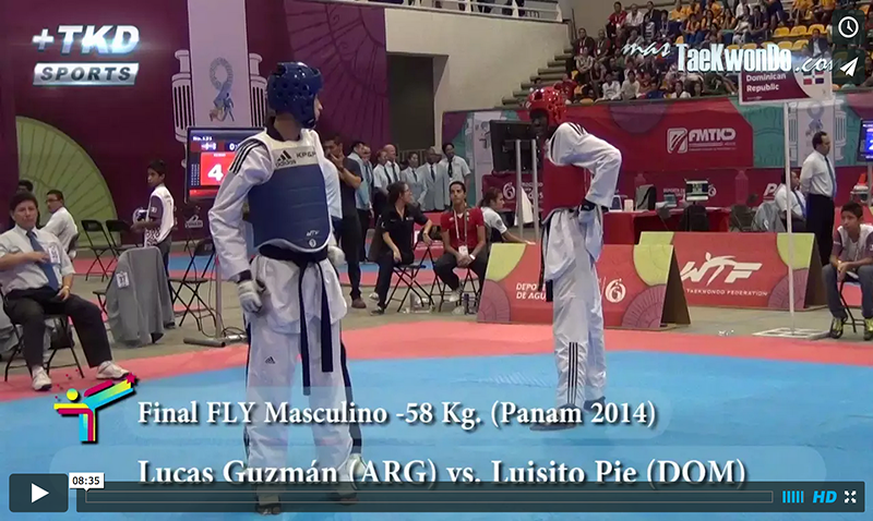 Lucas Guzmán (ARG) vs. Luisito Pie (DOM)
