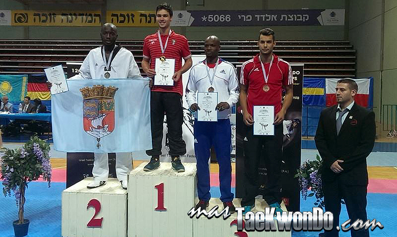 Podio Israel Open 2014