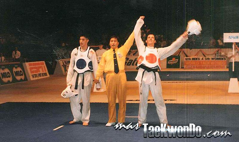 Final Mundial 1995 contra Jean Lopez