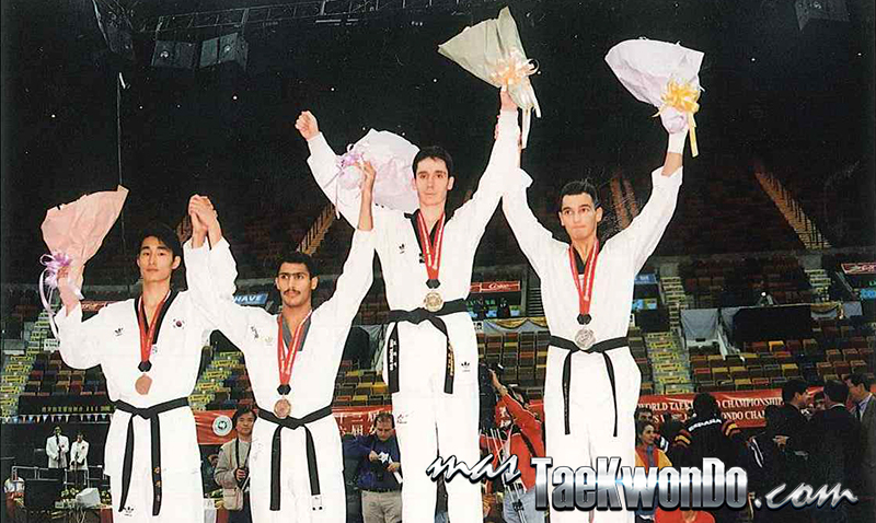 Podium Mundial 1997