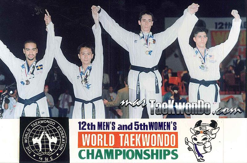 Podium Mundial Manila 1995