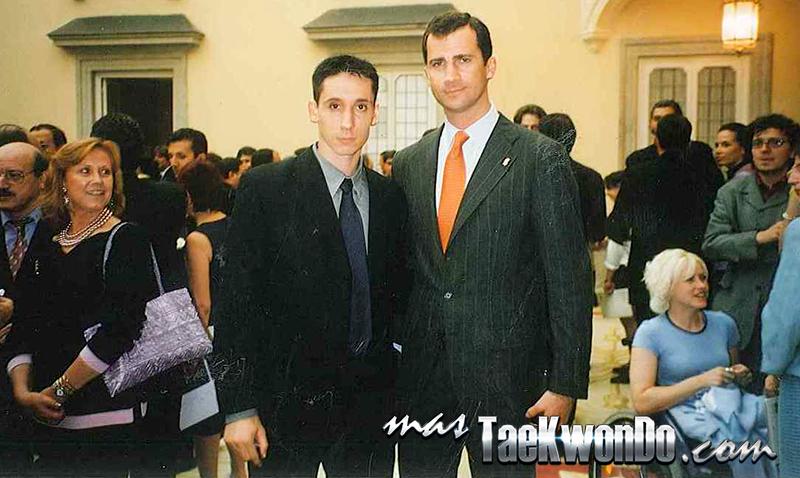 Pepeillo con el Rey de España