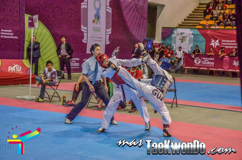 Elizabeth Zamora (GUA) contra Itzel de Mexico, Panamericano 2014