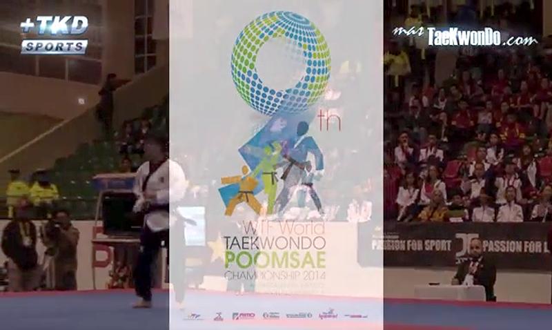 Promo del Mundial de Poomsae 2014