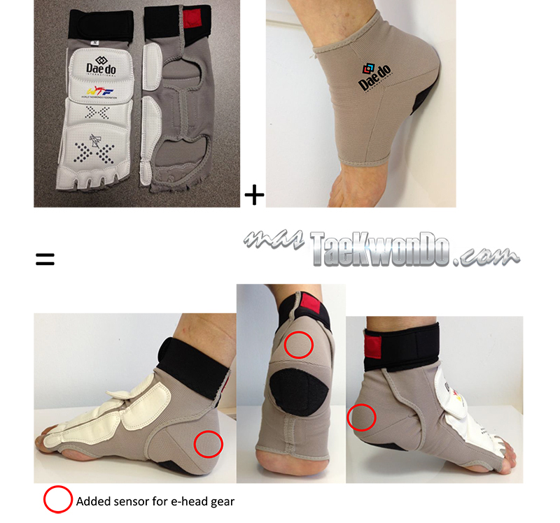 Daedo E-Foot Protector _ Version Septiembre 2014