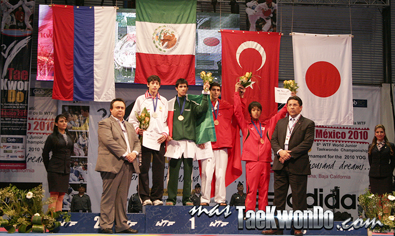 Cesar Rodriguez, MEX, Oro Mundial Juvenil Tijuana 2010