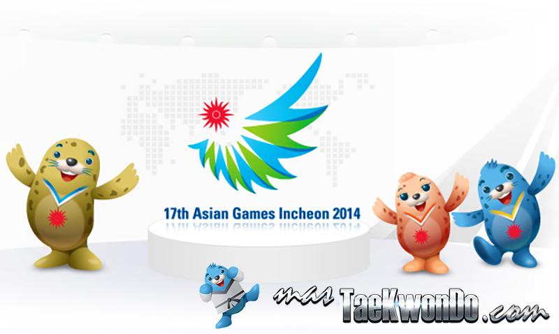 Asian Games, Results Taekwondo