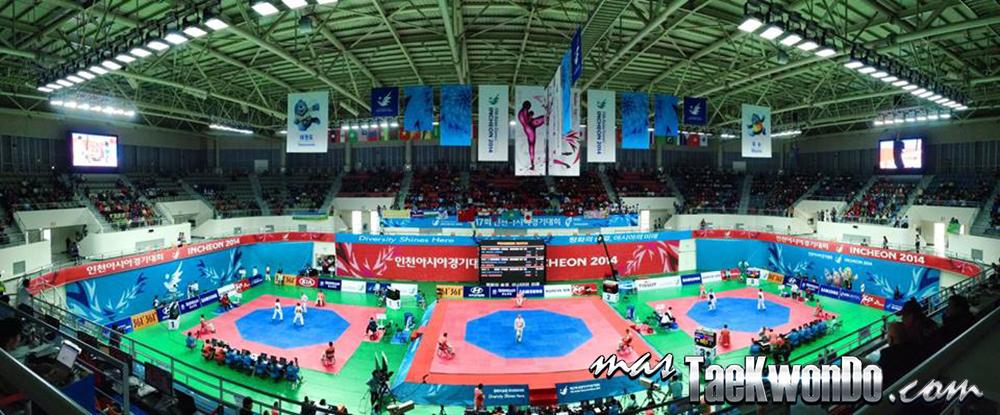 Ganghwa Dolmens Gymnasium, Taekwondo