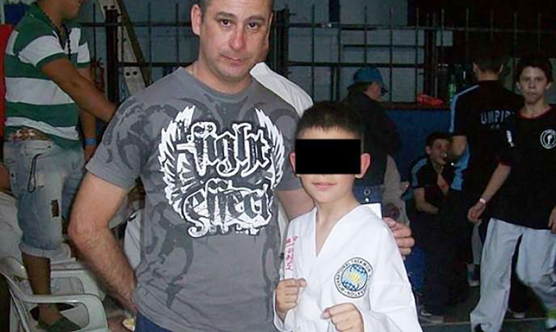 Profesor de Taekwondo ITF, Miguel Ángel Díaz