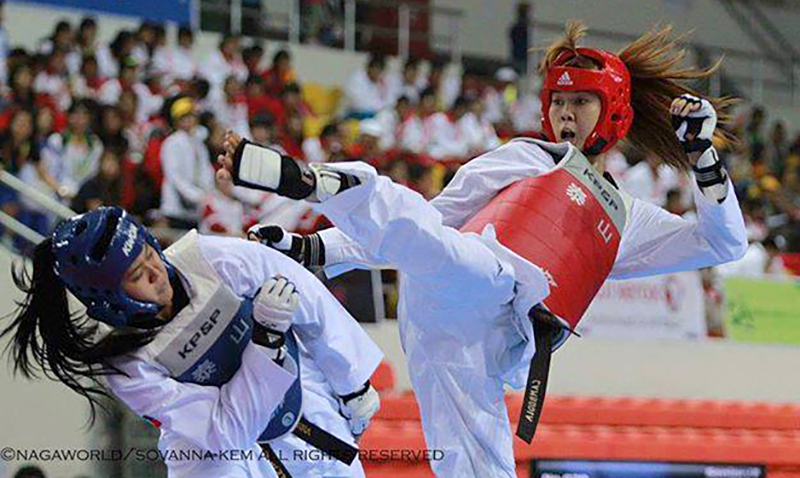 Seavmey SORN, CAM - Taekwondo