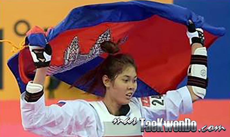 Seavmey SORN, CAM - Taekwondo, Oro Asian Games