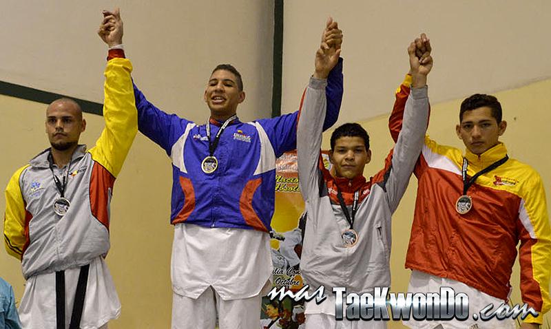 II Válida Nacional Campeonato Absoluto de Taekwondo, Venezuela