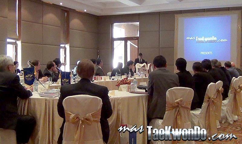 Presentación ante la Reunión Extraordinaria del Comité Ejecutivo de la WTF de masTKD