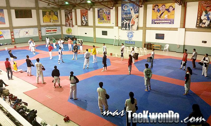 Centro de Alto Rendimiento en Altura CIARTKD - Taekwondo