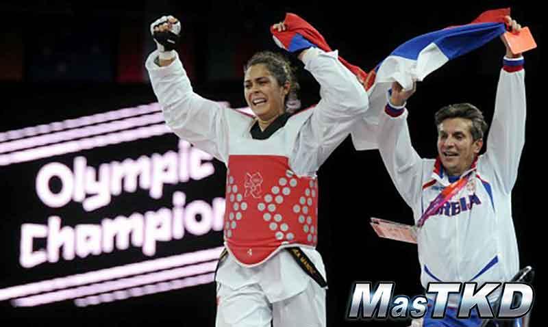 Milica Mandic (SRB) - Oro en Taekwondo, Londres 2012