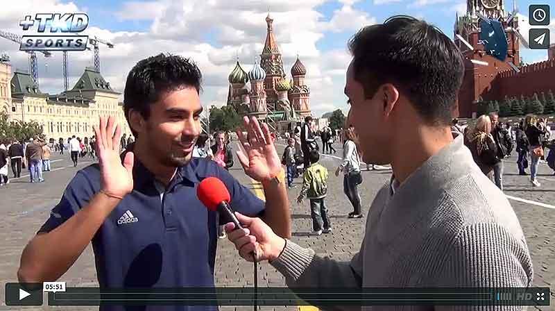 Entrevista a Lezmar Fierro en Moscú