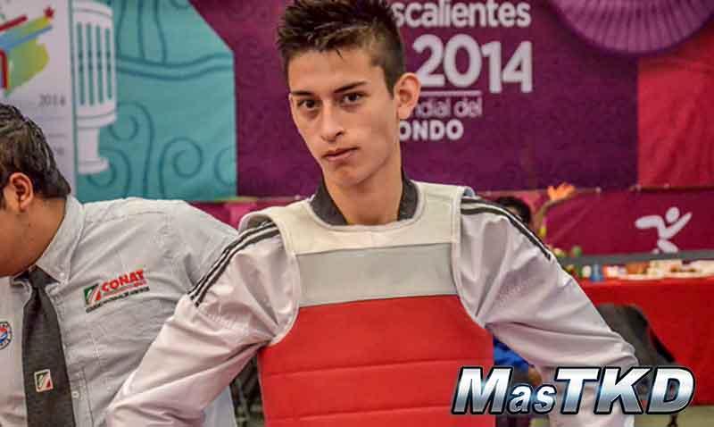 Lucas Guzmán, Taekwondo Argentina M-58Kg.