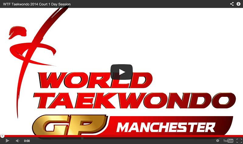Videos en vivo del 3er Grand Prix Series, Manchester 2014