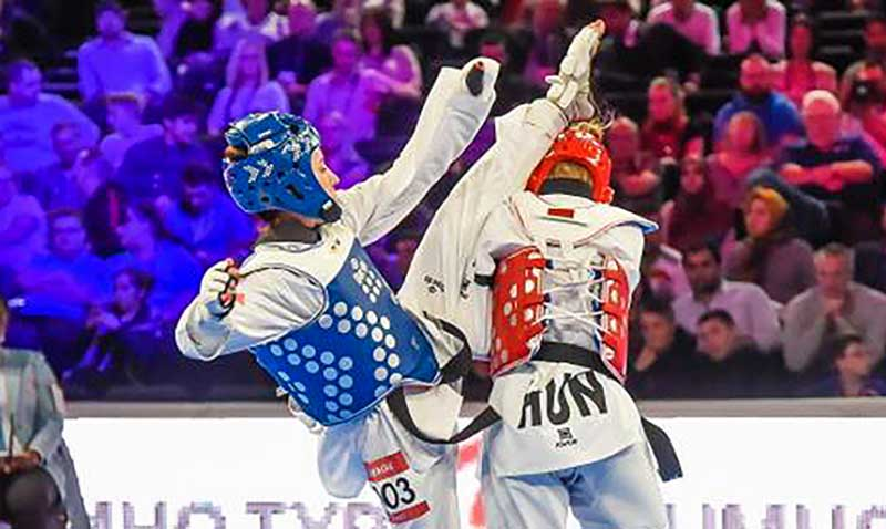 Segundo día del Grand Prix Series 3 de Taekwondo