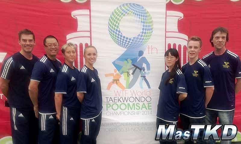 SWE Poomsae Team