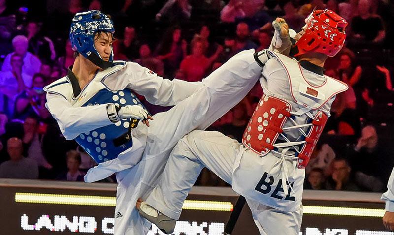 Dae-hoon Lee (KOR) vs. Jaouad Achab (BEL), Final M-68