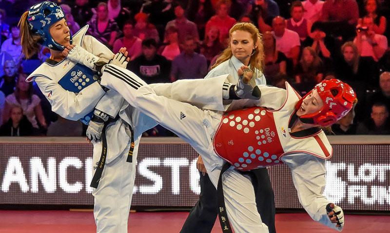 Eva Calvo (ESP) vs. Jade Jones (GBR), Final F-57
