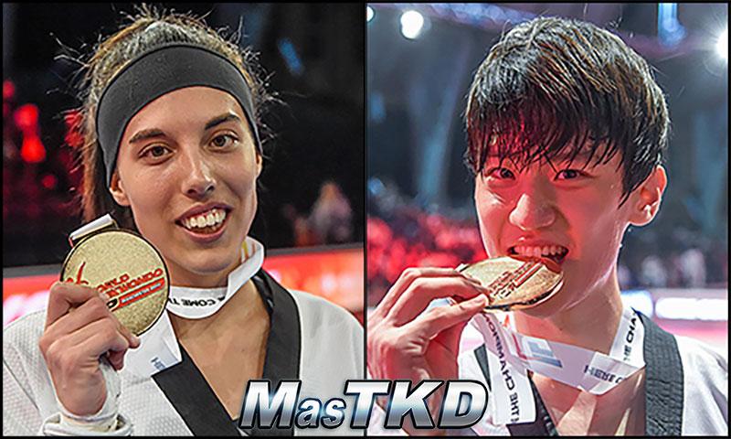 Oros del tercer día en el Grand Prix de Taekwondo
