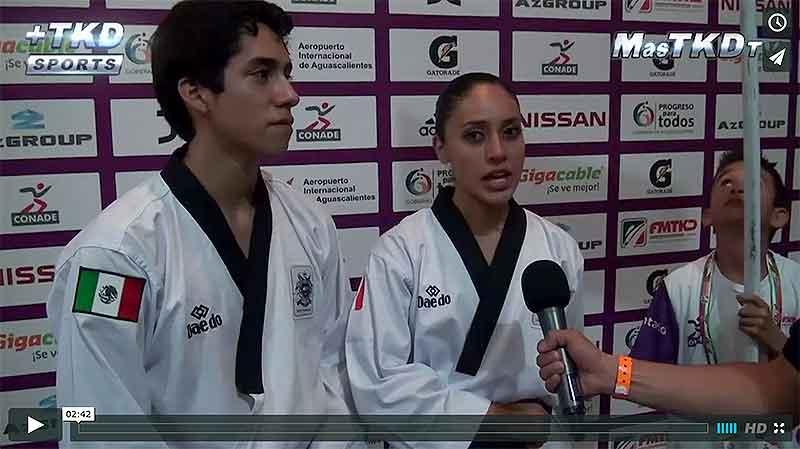 Ollin Medina y Vaslav Ayala, campeones del mundo de Poomsae en la categoría parejas -30 años