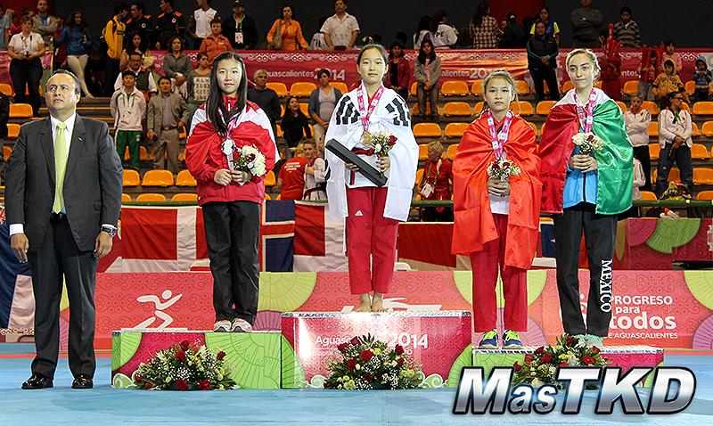 Individual Cadetes Femenino, Mundial de Poomsae 2014
