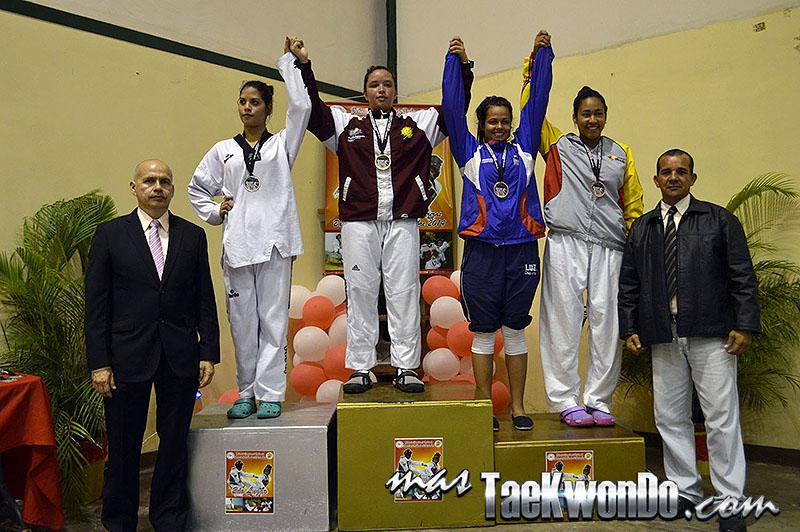 Podio F-73, II Válida Nacional Campeonato Absoluto de Taekwondo