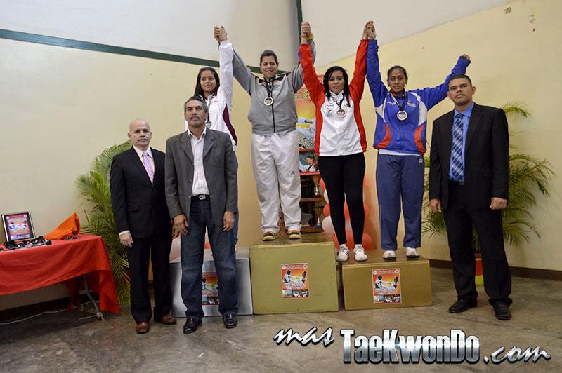 Podio F+73, II Válida Nacional Campeonato Absoluto de Taekwondo