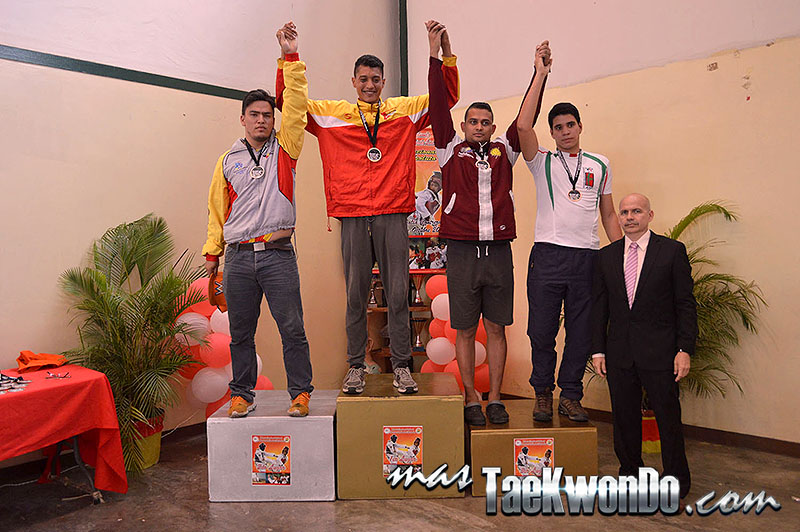 Podio M+87, II Válida Nacional Campeonato Absoluto de Taekwondo