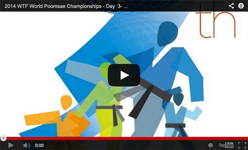 Transmision en Vivo día 3 del Mundial de Poomsae