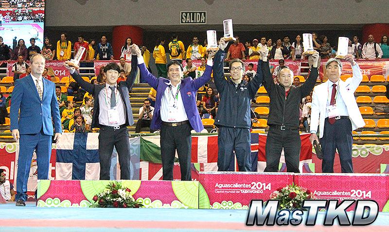 Premiacion general, Corea campeon