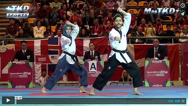 Video resumen del Mundial de Poomsae 2014