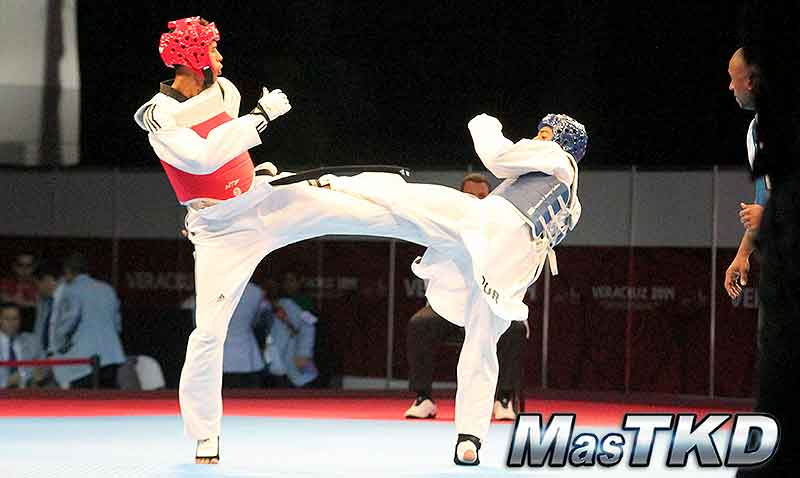 JCC Veracruz 2014, Taekwondo