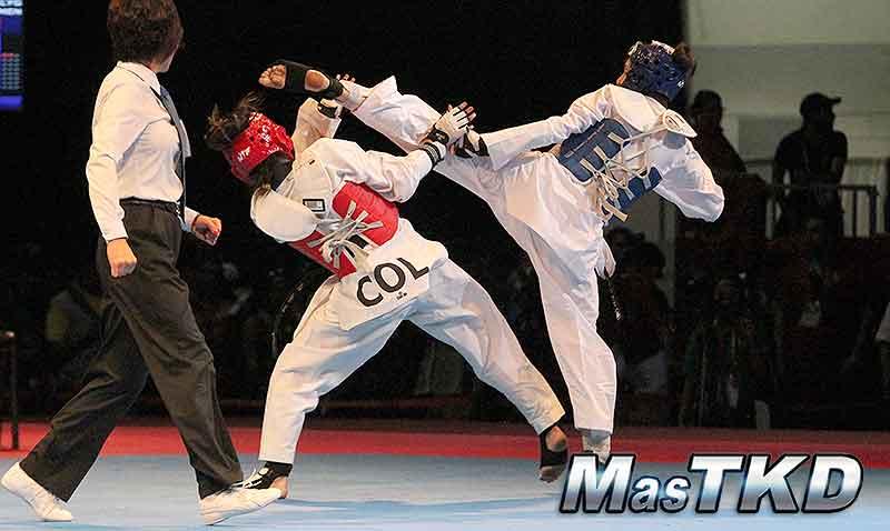 Galería de Imágenes del taekwondo en los JCC Veracruz 2014, día 2