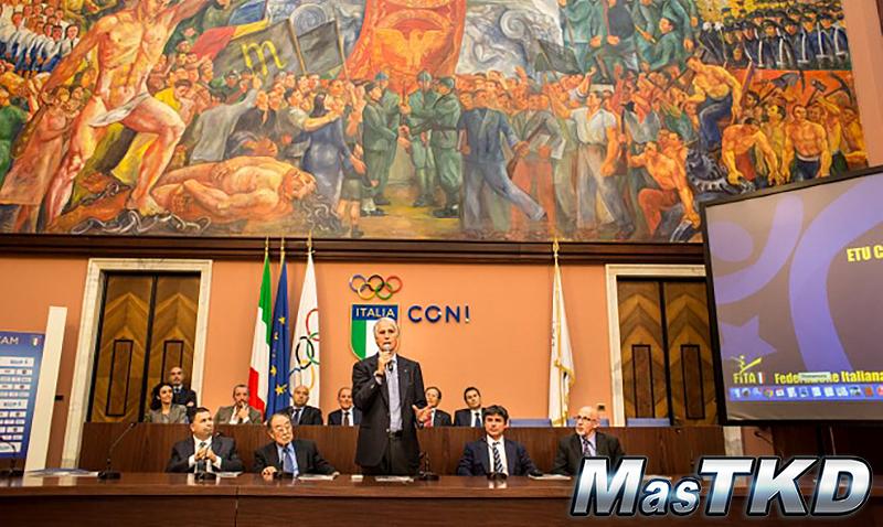 Gianni Petrucci, Presidente del Comité Olímpico Italiano