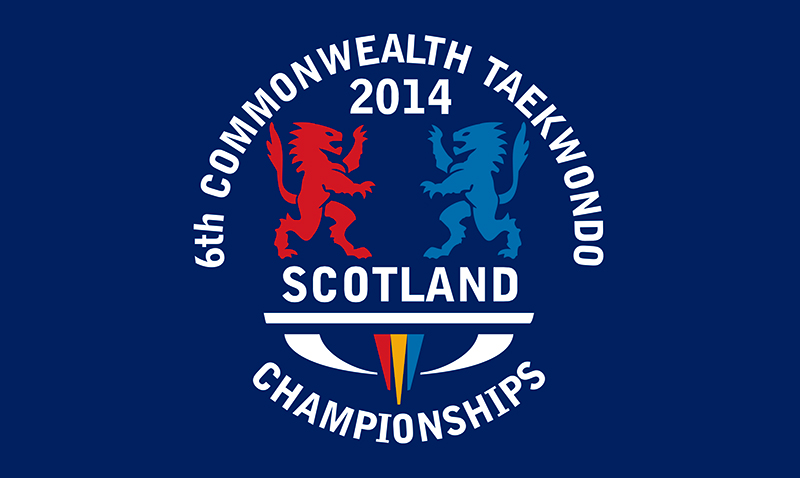 Logo 6th Commonwealth Taekwondo Open Championships