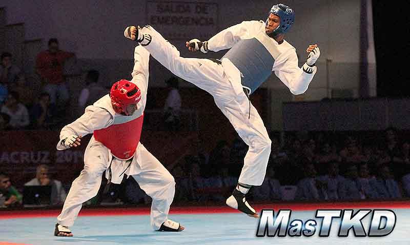JCC Veracruz 2014, Taekwondo día 3