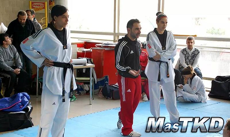 Calvo, Martin del Campo, entreno