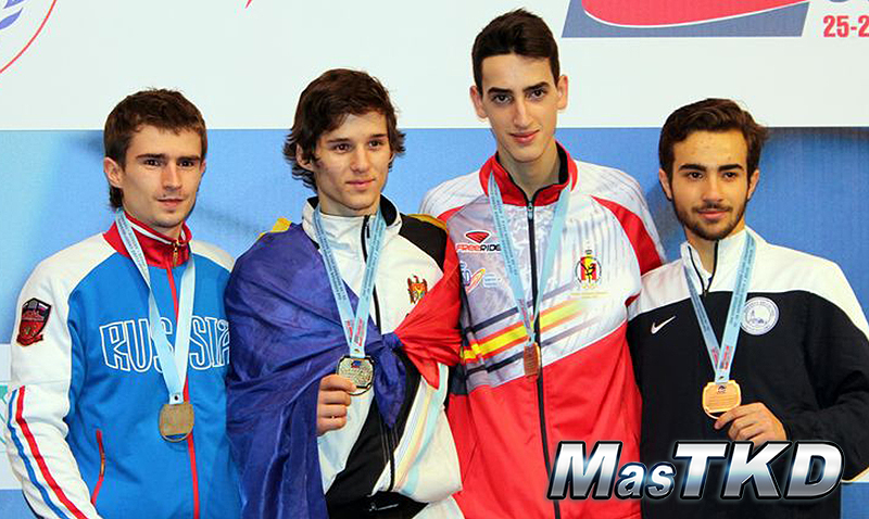 Podio del 2nd European Club Championships