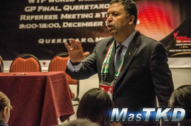 International Referee, Taekwondo