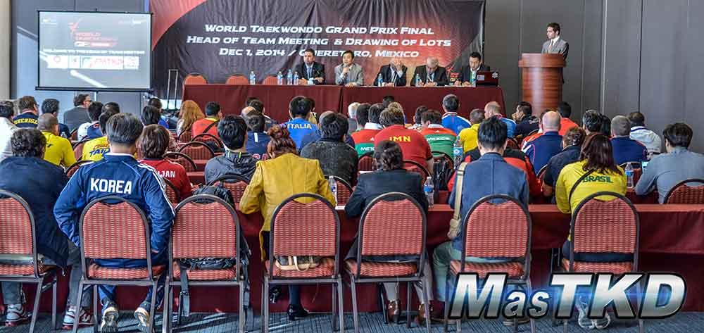 Congreso Técnico, Grand Prix Final Querétaro 2014